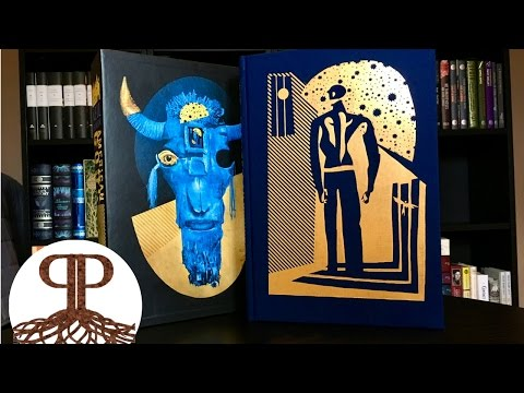 First Look On American Gods! – Folio Society Unboxing