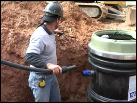 Grinder Pump Installation Installing a 2000 Series E/One Grinder