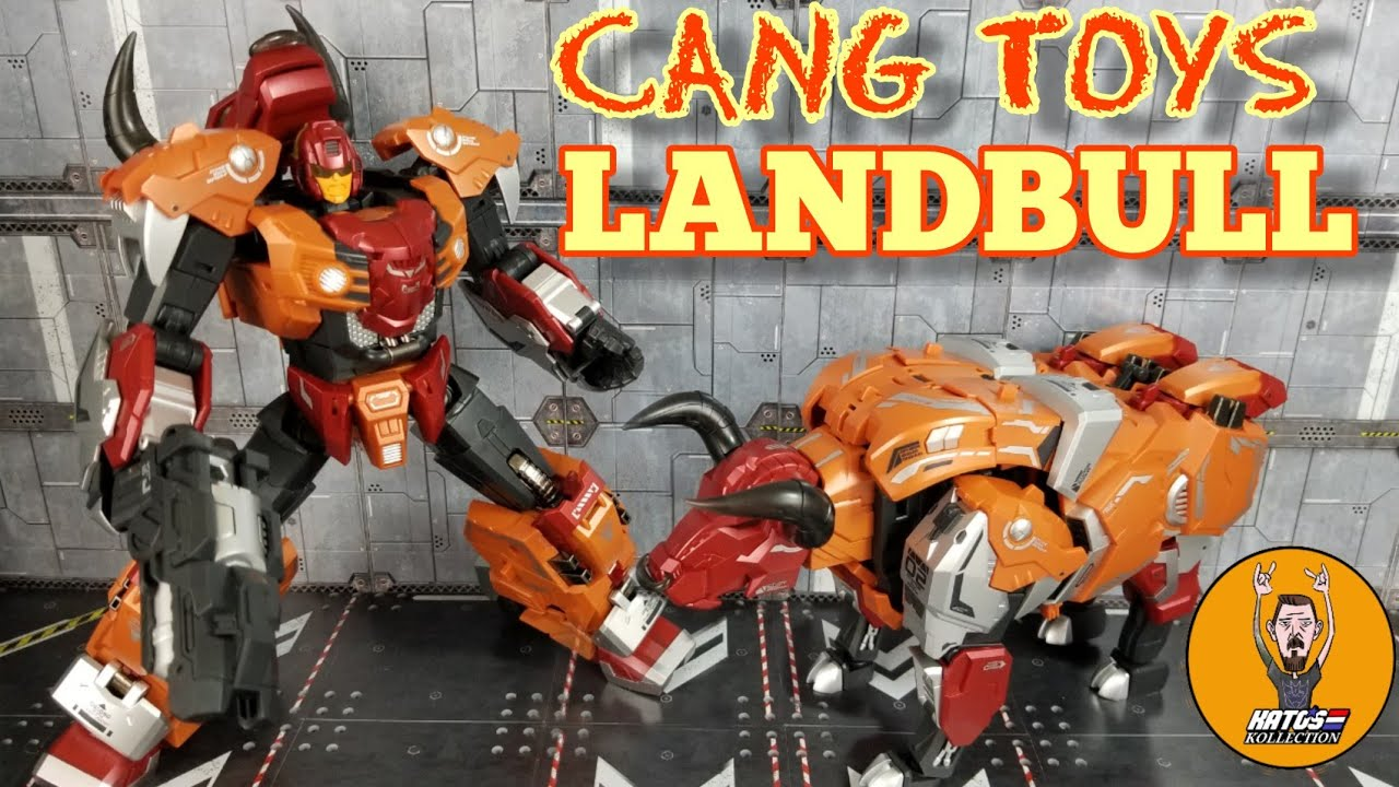 Cang Toys Landbull (Tantrum) Review by Kato's Kollectiom
