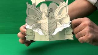 Amazing 3D Pop Up Cards - Puppy (Uncompleted)