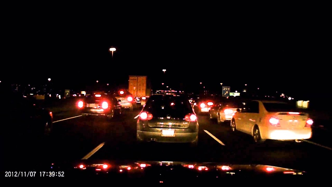 traffic at night by - photo #36