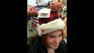 Redneck santa hat walmart