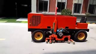 Automatic Sand Rubber Filling And Brushing Machine For Artificial Grass