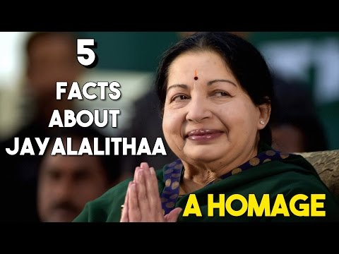 5 Facts about Late TN CM J Jayalalithaa | A HOMAGE TO AMMA | SIMBLY CHUMMA 144