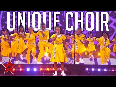 Choir Gets the Judges Dancing To AMAZING AFRICA Cover On America' Got Talent! | Got Talent Global