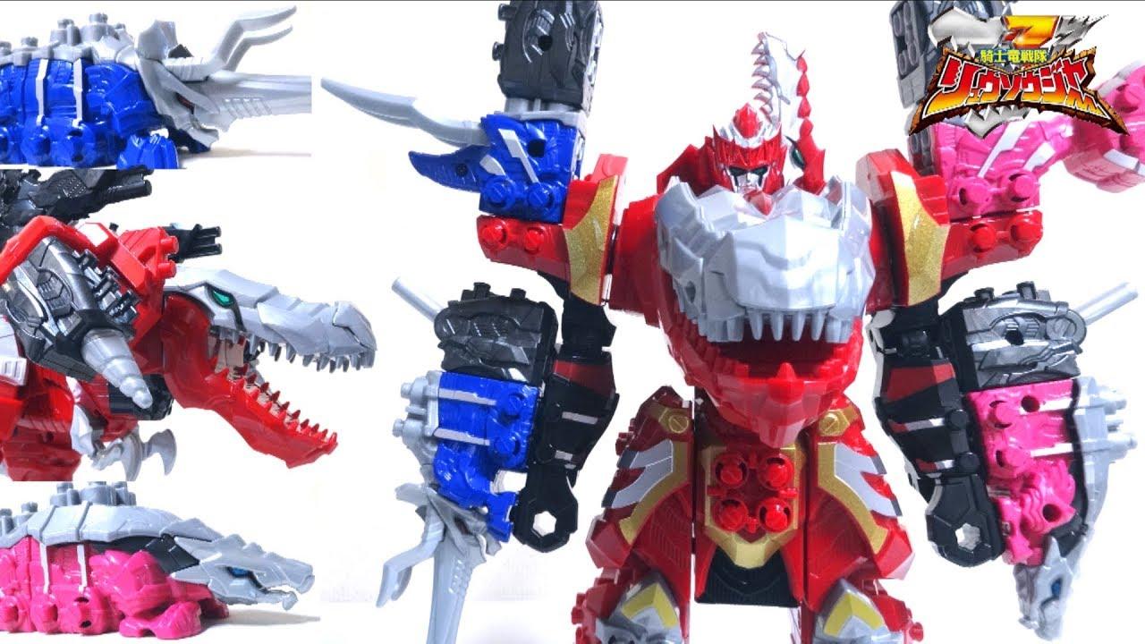【Kishiryu Sentai Ryusoulger】DX Kishiryu,Oh Three Knights Set wotafa\u0027s  review. wotafa/ヲタファ