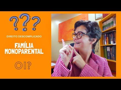 O QUE É FAMÍLIA MONOPARENTAL? Direito Descomplicado YouTube