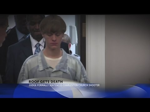 Judge formally sentences Dylann Roof to death