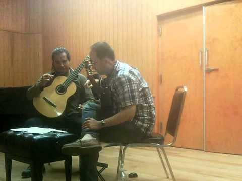 Denis Azabagic teaches 1st movement from Concerto Elegiaco by Leo Brouwer