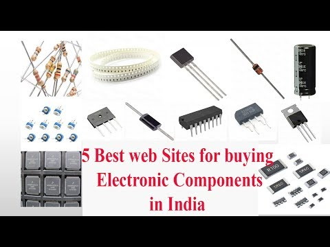 Best 5 web Sites for buying Electronic Components in India.