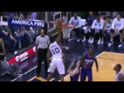 Top 10 Dunks of the 2015- 2016 NBA Regular Season