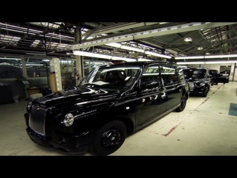 A look at how the famous black London taxi is put together