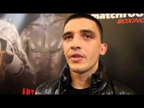 LEE SELBY - 'I AM EXPECTING THE BEST RENDALL MUNROE' - INTERVIEW @ RELOADED PRESS CONFERENCE