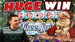 Happy Holidays Slot: HOT MODE!! HUGE WIN! - £4.20 Bet