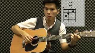 周杰伦 彩虹 吉他教学 建德吉他教程 完整版 34