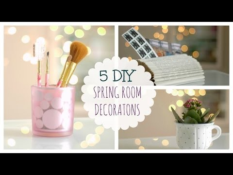 Spring decorating ideas♥//Fast&Easy