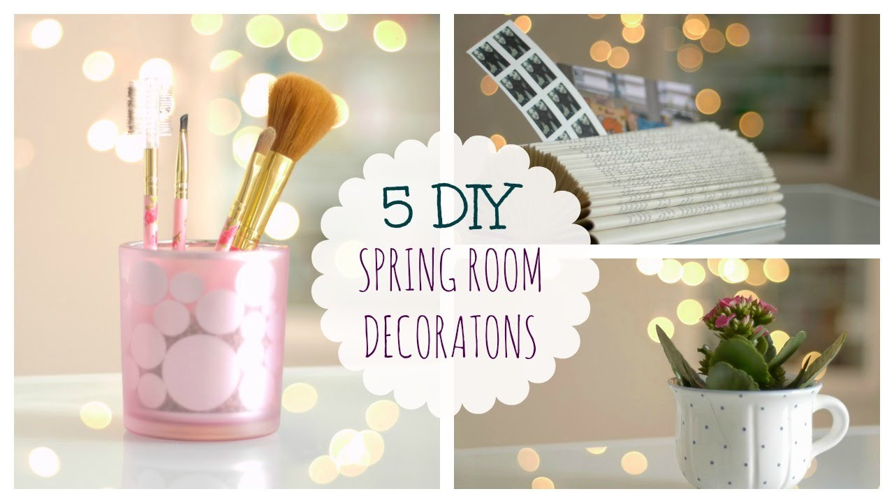 spring decorating ideasfasteasy youtube