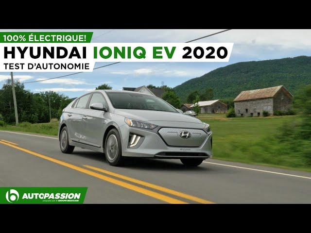 2020 Hyundai Ioniq Électrique - Notre Coup De Coeur Électrique - Essai AutoPassion