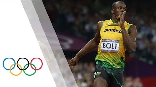 Usain Bolt Wins 200m Final | London 2012 Olympic Games(Check out the brandnew Olympic Channel: http://go.olympic.org/watch?p=yt&id=LWZQAVtkMBo Usain Bolt wins the final of the men's 200m at the London 2012 ..., 2012-08-09T21:32:36.000Z)