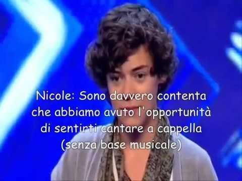 One Direction provino X Factor di Harry Styles sub ita original sottotitoli italiano - YouTube