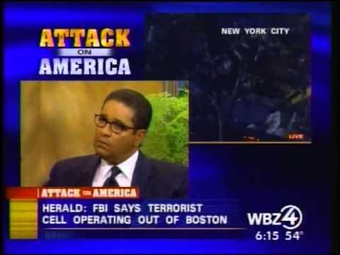 9/11 News Sept 12 2001 CBS Boston Coverage 600 am to 630 am WSBK News