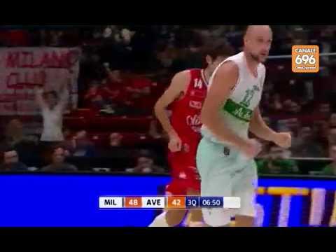 EA7 Olimpia Milano - Sidigas Scandone Avellino, gli highlights