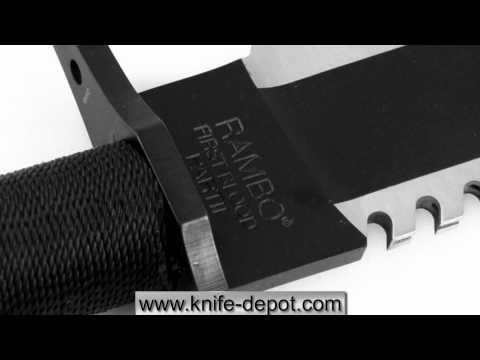 Master Cutlery Rambo II Non-Signature Edition Survival Rambo Knife
