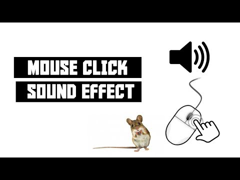 Mouse Click Sound Effect + Download