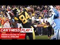 You Wont Believe Antonio Browns One-Handed Helmet Catch for a TD!   Cant-Miss Play   NFL Wk 11