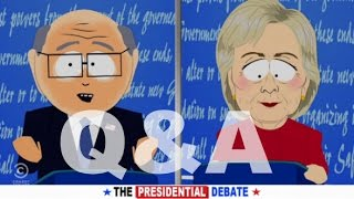What Does Mike Think of South Park's Portrayal of the Election? | Candid Q&A