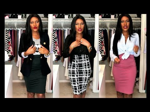 Styling Pencil Skirts For Work- Simple Classic Ways To Style Pencils Skirts For The Office