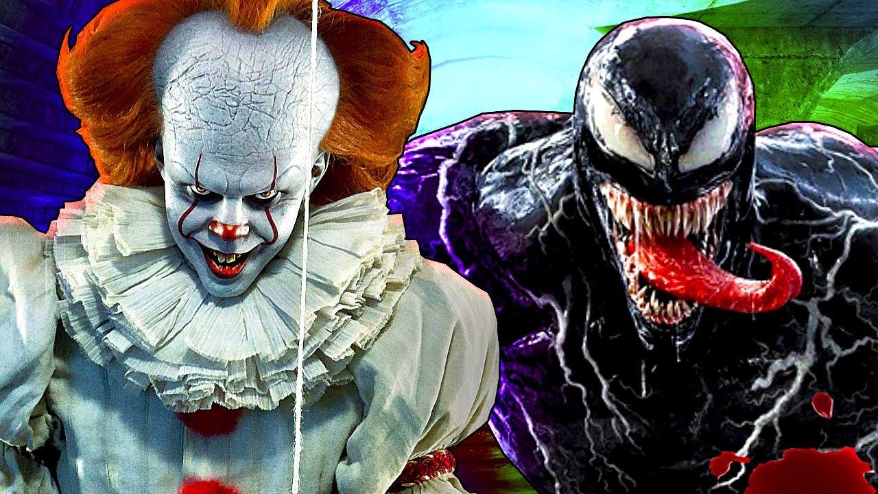ВЕНОМ VS ПЕННИВАЙЗ 🤡🎈 Venom 2 ПРОТИВ Pennywise It ОНО Хоррор
