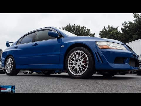 Walk Around - 2001 Mitsubishi Lancer Evolution 7 GSR - Japanese Auction