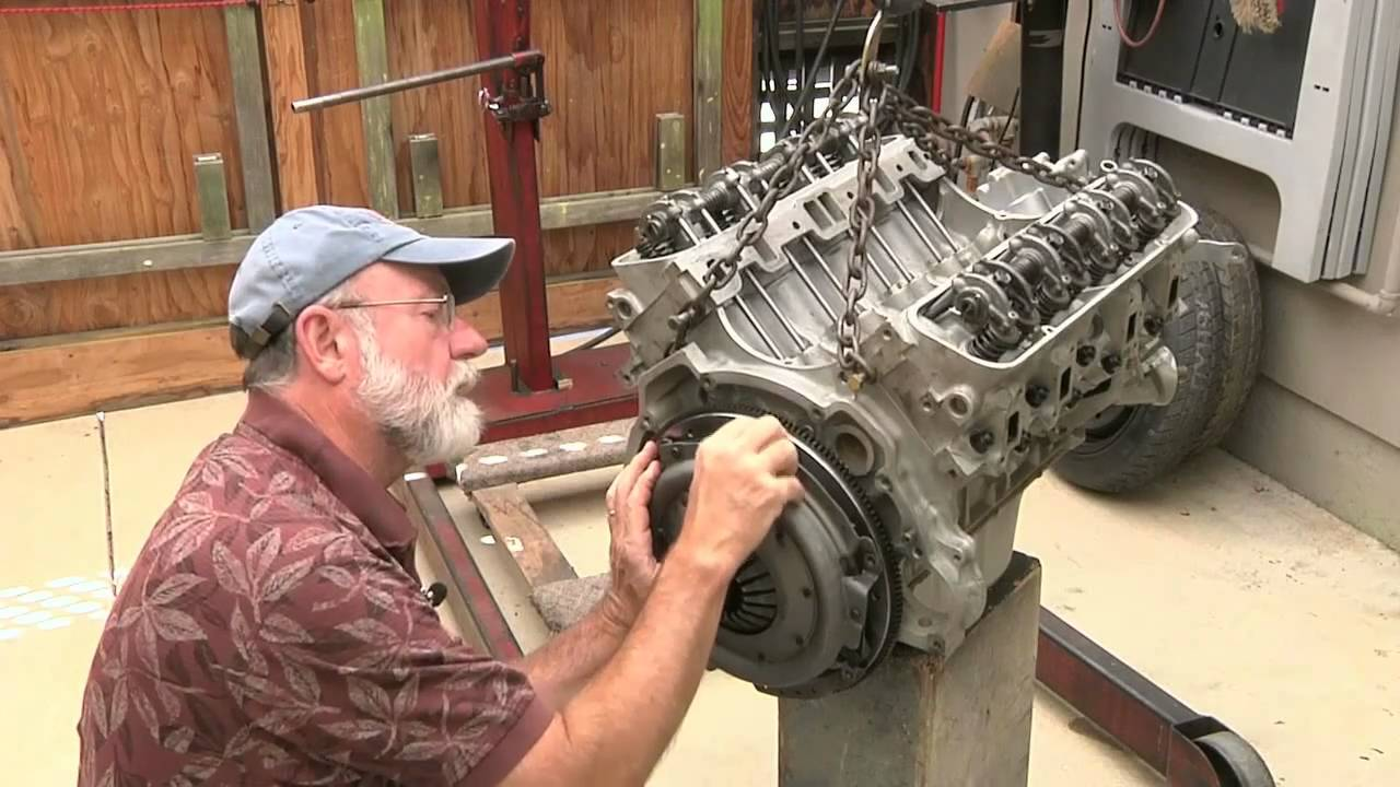 Throw Out Bearing >> 1966 MGB with a Rover V8 - Episode 5 - Clutch Assembly ...