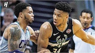 Milwaukee Bucks vs Charlotte Hornets - Full Game Highlights | March 1, 2020 | 2019-20 NBA Season