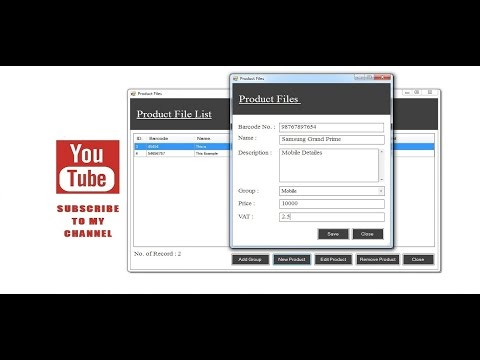 How to Make Account Management Software  in Csharp Tutorial Part 1