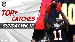 Top Catches from Sunday | NFL Week 12 Highlights