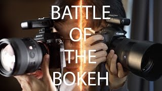 Battle of the Bokeh: 85mm f/1.4 Zeiss Otus vs Sony GM