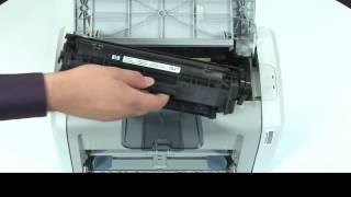 Замена картриджа — принтер HP LaserJet 1020(Заправка картриджей, ремонт оргтехники, ремонт принтеров, ремонт факсов, ремонт МФУ, ремонт копиров, заправ..., 2015-01-19T18:20:27.000Z)