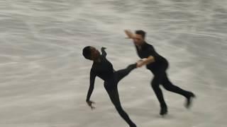 V.James/ M.Cipres, European Championships Figureskating 2019, practice LP