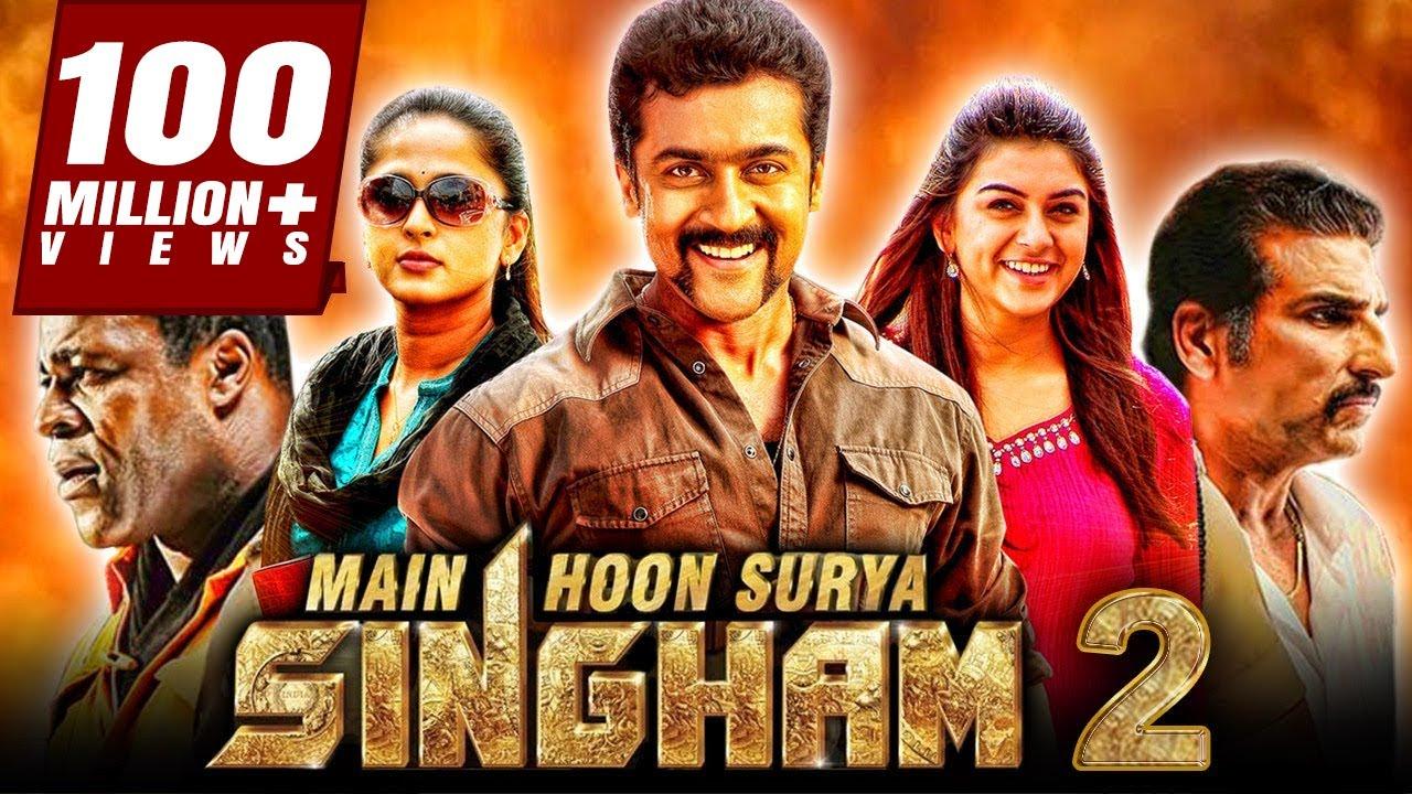 Download Main Hoon Surya Singham 2 Hindi Dubbed Full Movie   Suriya, Anushka Shetty, Hansika
