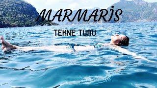 MARMARİS I TEKNE TURU - Metrelerce yükseklikten atlama!
