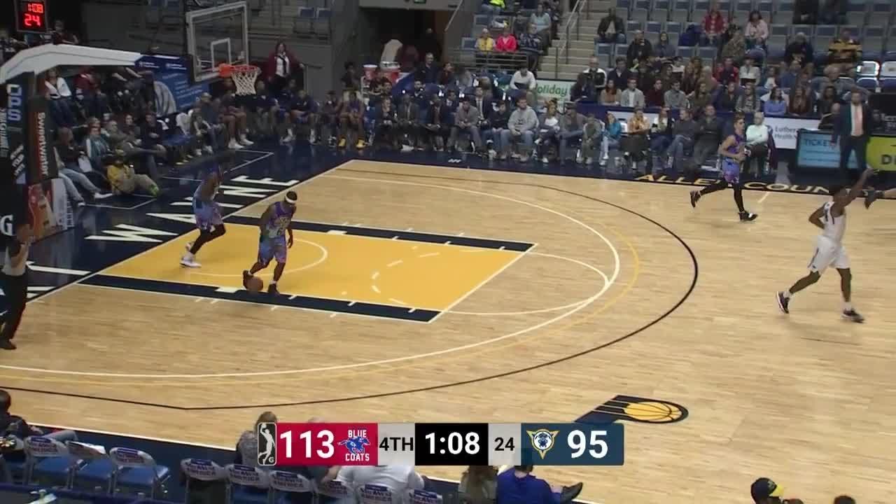 37b9d7662 Jared Brownridge (21 points) Highlights vs. Fort Wayne Mad Ants ...