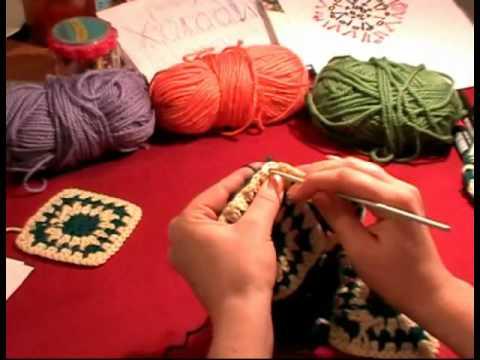 7 Урок Вязание крючком.