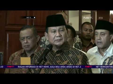 Prabowo Kecewa dengan Kasus Pengeroyokan yang Menimpa Ratna Sarumpaet - NET5
