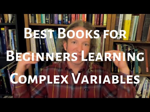 Best Books For Beginners Learning Complex Variables Youtube