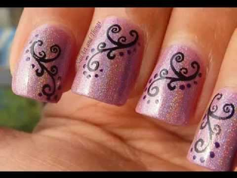 Uñas Decoradas Indio Youtube