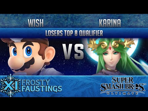 FFXI - Smash Ultimate Singles Losers Top 8 Qualifier -  Wish (Dr Mario) vs Xit Karina (Palutena)
