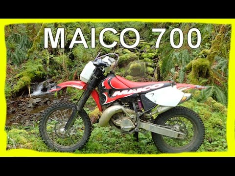 Dirtbike Riding: S3 E9 - Maico 700 - Short riding clips