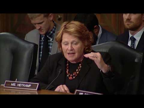 Heitkamp Questions Head of Equifax Following Information Breach, Allegations of Insider Trading